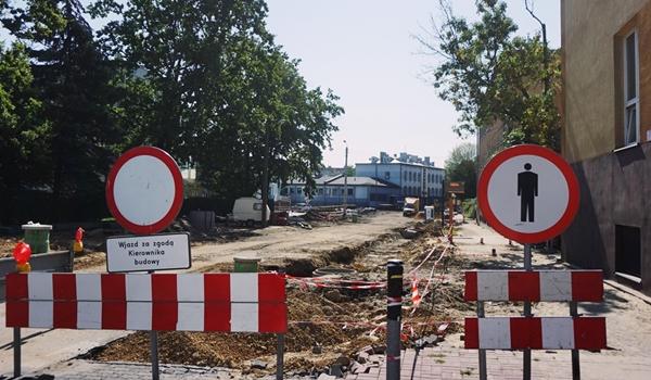 Inwestycje drogowe w centrum miasta