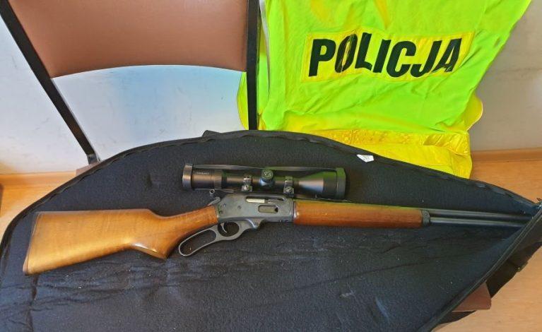 Zabezpieczyli nielegalną broń i środki odurzające