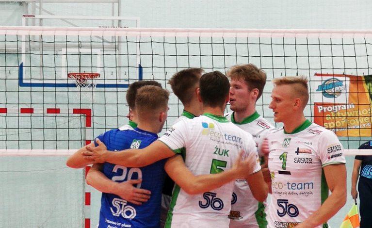 Eco-Team AZS Stoelzle Częstochowa. Wygrana na wyjeździe