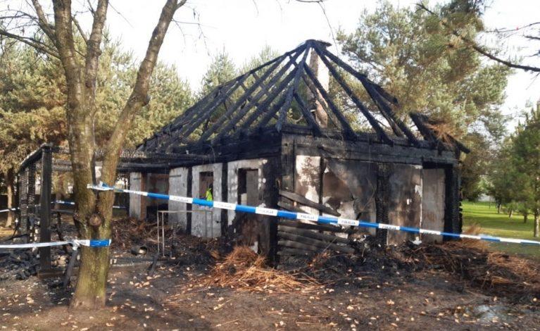 Tragiczny pożar w altanie