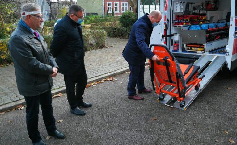 Wsparcie dla szpitali w Kłobucku i Lublińcu