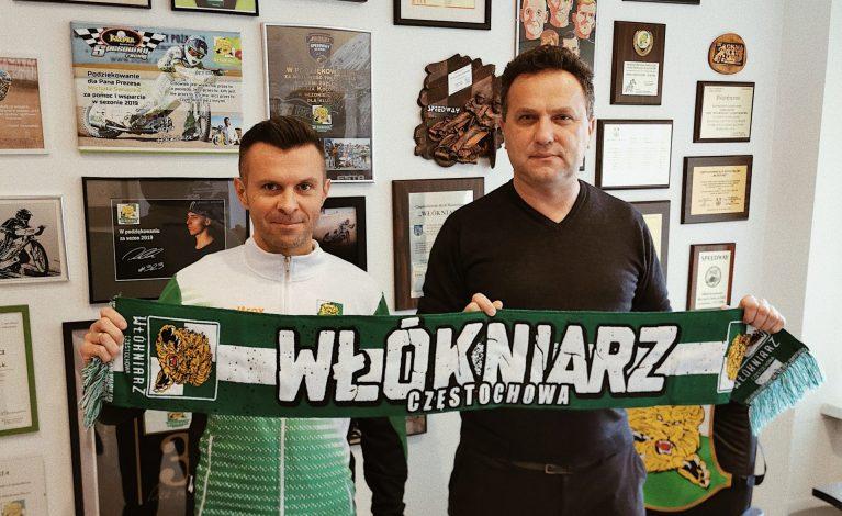 Jarosław Dymek znów we Włókniarzu