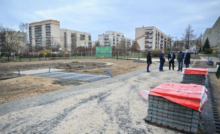 Kompleks sportowy w dzielnicy Wrzosowiak
