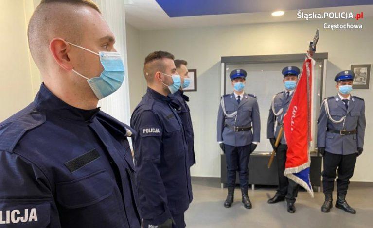 Częstochowski garnizon zasilony przez nowych funkcjonariuszy