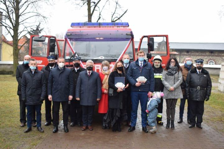 Nowy wóz dla strażaków
