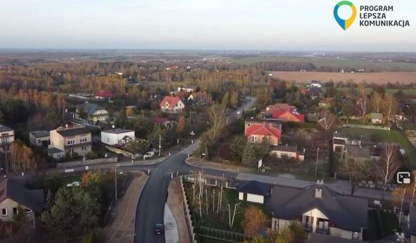 """MZDiT prezentuje ostatnie inwestycje drogowe """"z lotu ptaka"""""""