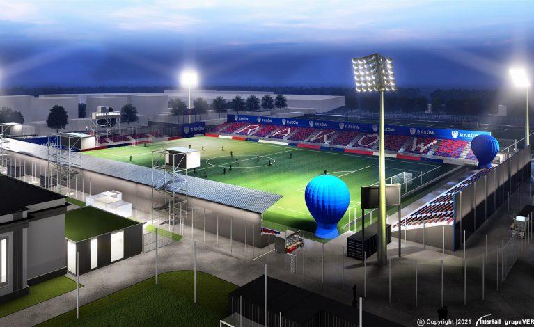 Wiadomo, jak będzie wyglądać stadion Rakowa. Nowa wizualizacja obiektu