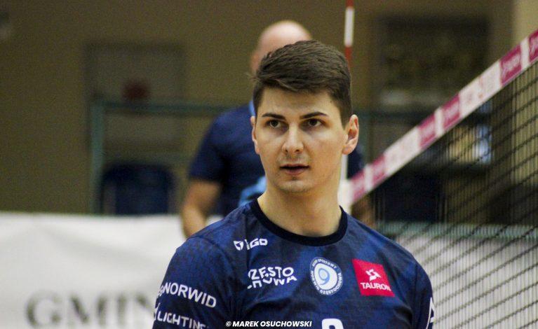 Łukasz Usowicz zostanie w Exact Systems Norwid na kolejny sezon