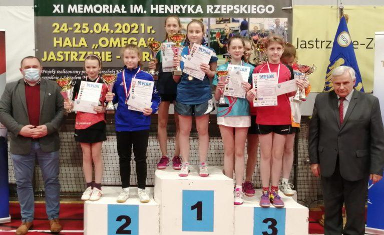Tenis stołowy. Mistrzostwa Śląska Młodzików