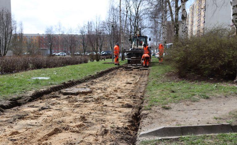 Przy ulicy Witosa powstanie nowy chodnik