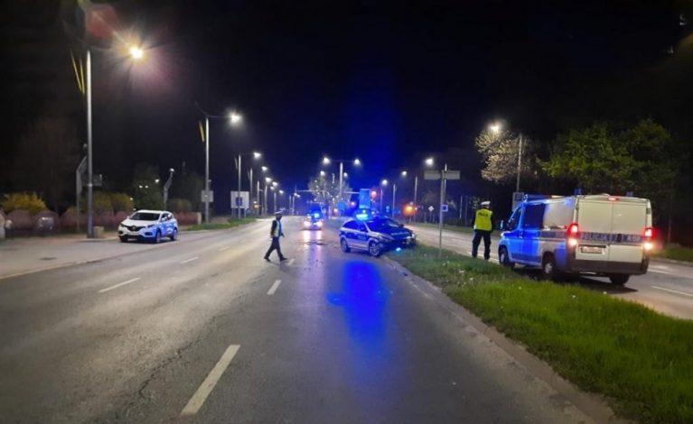 26-latek, który staranował radiowozy, został aresztowany