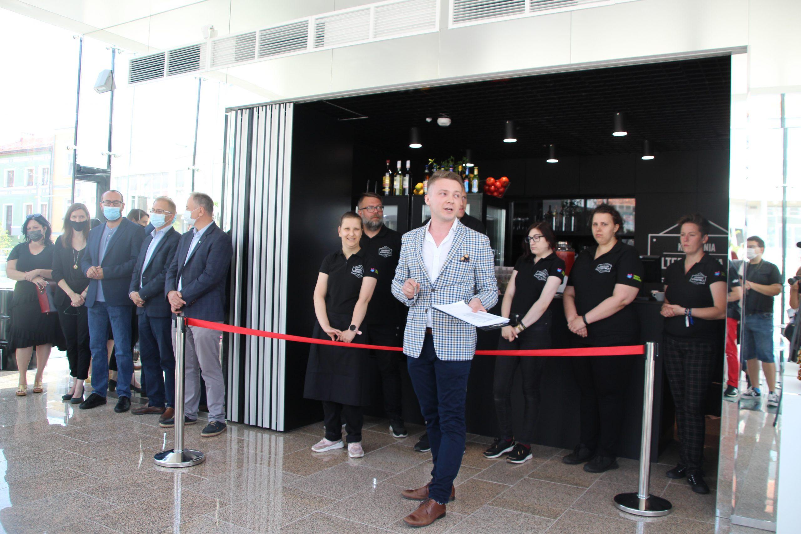 Kawiarnia na Starym Rynku oficjalnie otwarta