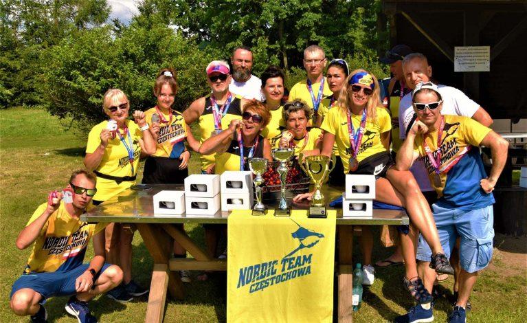 Mistrzostwa Nordic Walking. Nordic Team Częstochowa z medalami