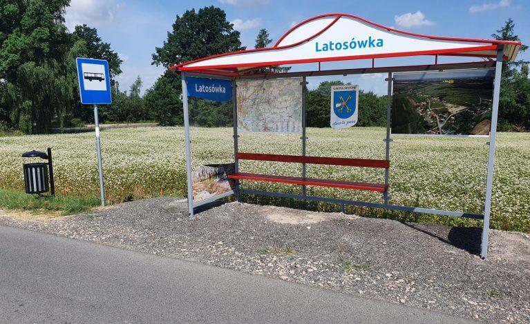 Nowe wiaty promujące gminę