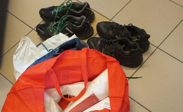 Ukradł banery reklamowe i… buty należące do organizatora biegu terenowego