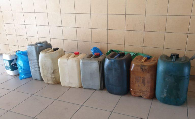 Kradli paliwo z maszyn budowlanych