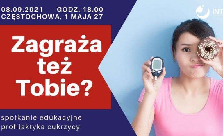 Jak zapobiegać cukrzycy? Bezpłatne spotkanie edukacyjne
