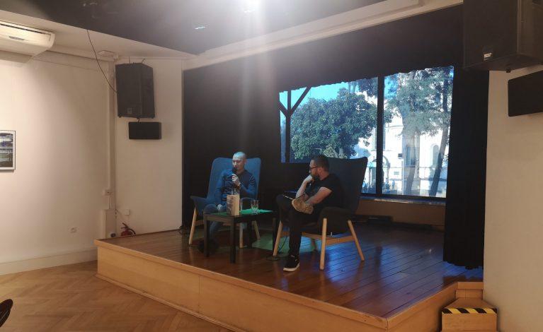 Spotkanie autorskie z Sebastianem Sadlejem w Gaude Mater