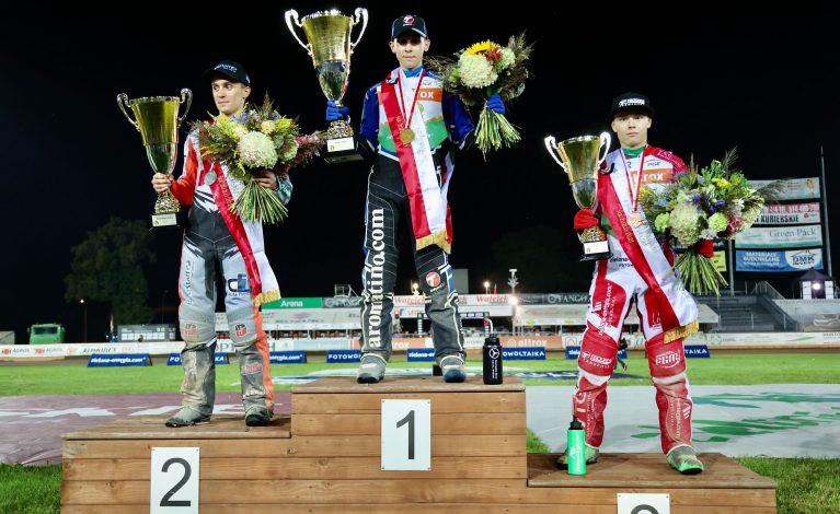 Zawodnicy Eltrox Włókniarza Częstochowa na podium MIMP