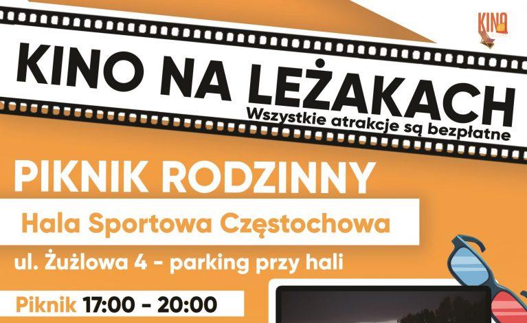 """""""Kino na leżakach"""" znów w Częstochowie"""