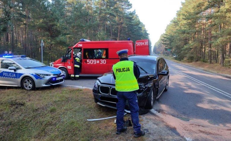Poważny wypadek w Bruśku. Cztery osoby w szpitalu