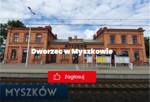 Myszkowski dworzec w ogólnopolskim konkursie