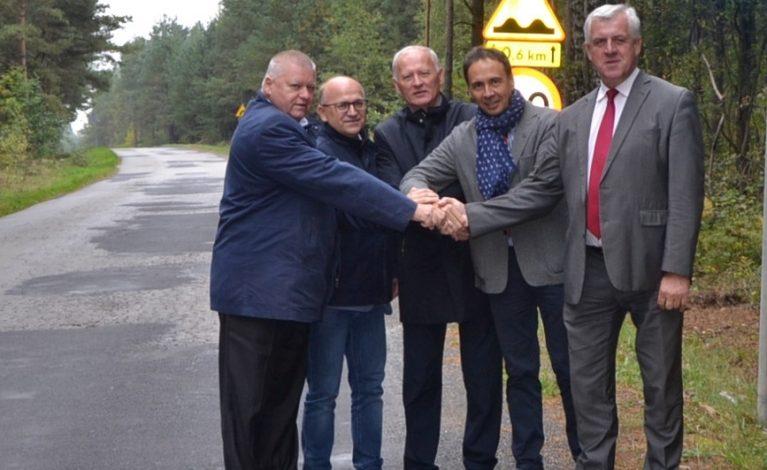 Wyremontują drogę  z Biskupic do Zaborza