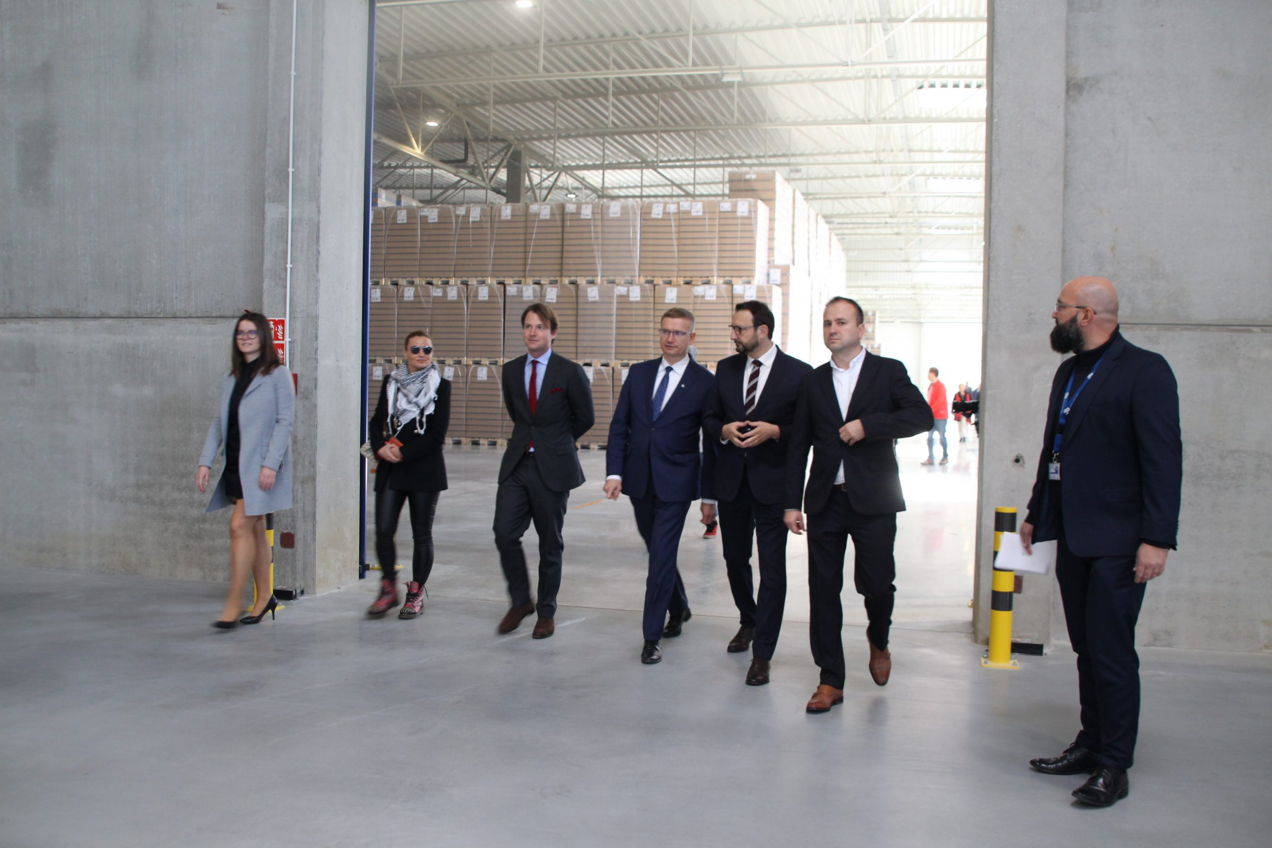 Huta szkła Stoelzle z nowym centrum logistycznym i… planami dalszego rozwoju