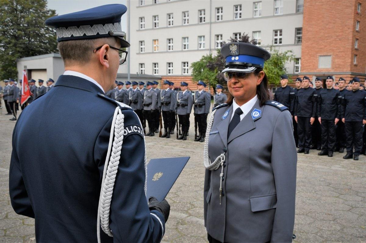 Pierwsza kobieta powołana na stanowisko komendanta